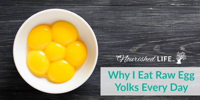 Eat Raw Egg Yolks Yup I do it And heres why