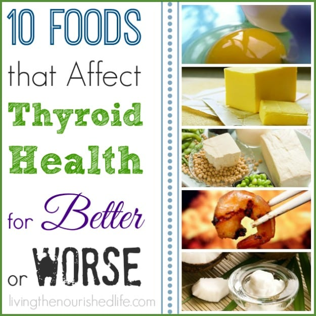 Natural Foods For Thyroid Health