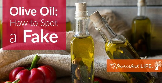 3 Ways to Tell if You Bought Fake Olive Oil - at livingthenourishedlife.com