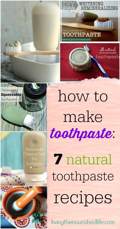 Homemade natural toothpaste recipe crazy homemade - Keep toothpaste kitchen ...