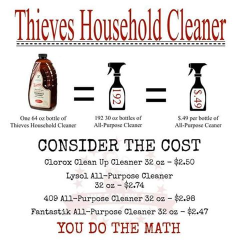 thieves cleaner cost