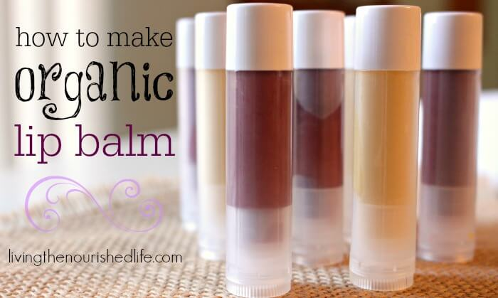 Homemade Tinted Lip Balm With Coconut Oil | Crazy Homemade