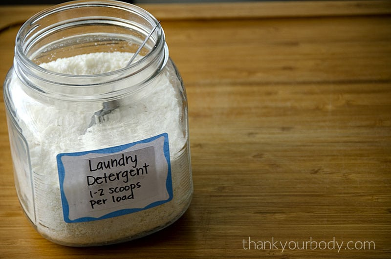 Natural DIY Cleaning Recipes: Homemade Laundry Detergent