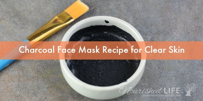 Charcoal Face Mask Recipe for Clear Skin