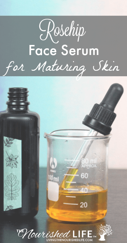 Rosehip Face Serum for Maturing Skin