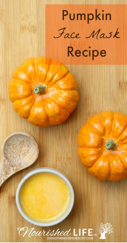 Pumpkin is a wonderful ingredient for DIY skin care. It's high in vitamin C to protect your skin from free radicals, which means that it can help prevent wrinkles and fine lines.