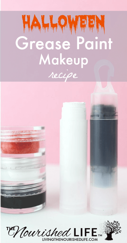 Halloween Grease Paint Makeup Recipe