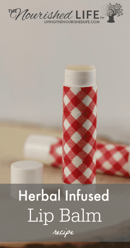 Herbal Infused Lip Balm Recipe