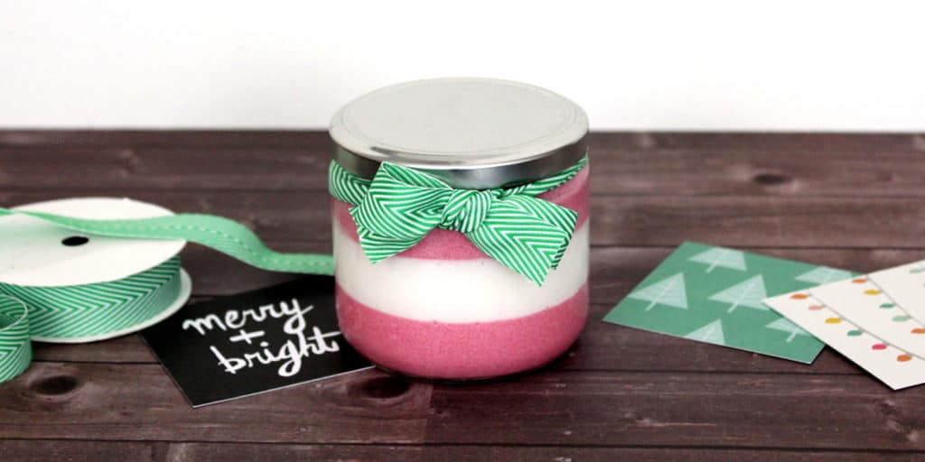 Peppermint Foaming Sugar Scrub Recipe