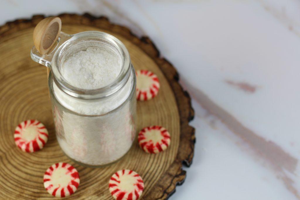 Peppermint Foot Scrub Recipe